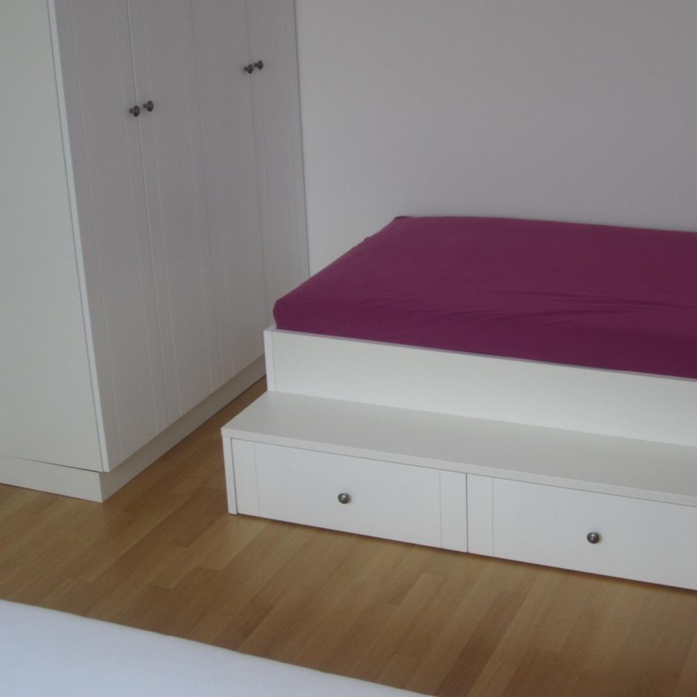 kombinacija otroške sobe in odrasle spalnice